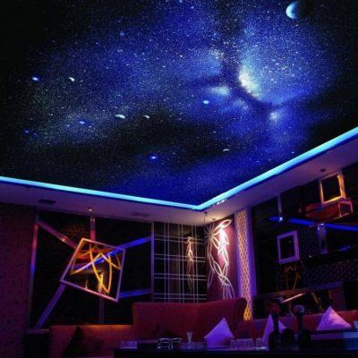 Потолок звёздное небо фото