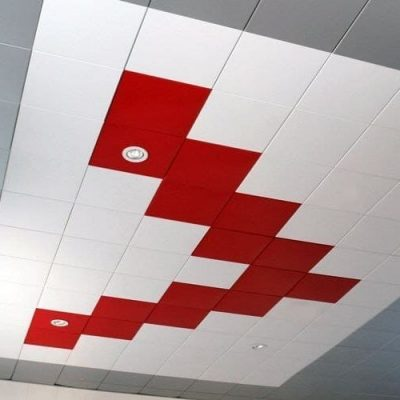 Потолок кассетный дома