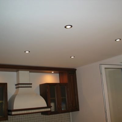 Потолок матовый фото
