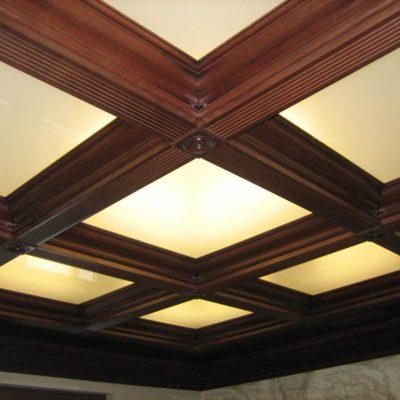Потолок отделка