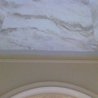 Потолок под мрамор