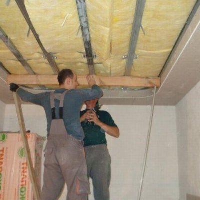 Потолок своими руками
