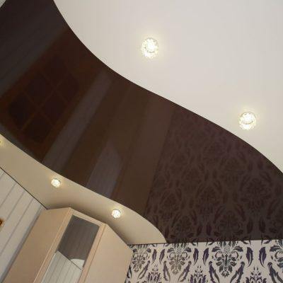 Потолок с переходом