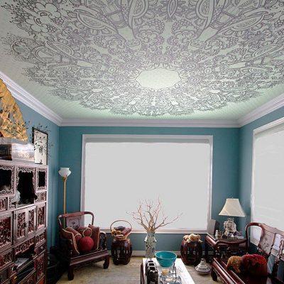 Потолок с узором