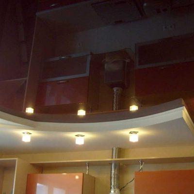 Потолок фигурный