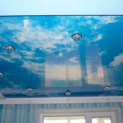 Потолок - фотопечать