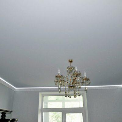 Сатиновый потолок натяжной