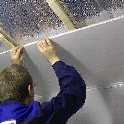 Своими руками сделать потолок