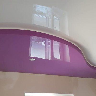 Сиреневый потолок фото