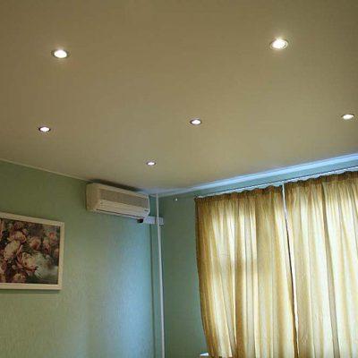 Тканевый натяжные потолки