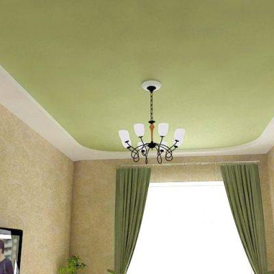 Тканевый потолки