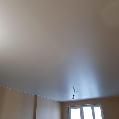 Тканевый сатиновый потолок