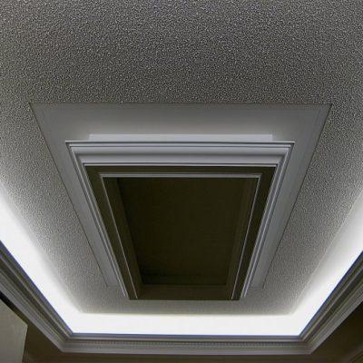 Фактурная штукатурка для потолка