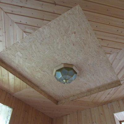 Фанерный потолок