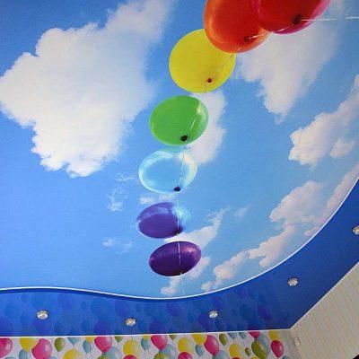 Фотография на потолке