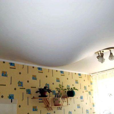Фото потолков натяжных