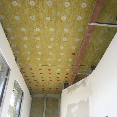 Шумоизоляция для натяжного потолка