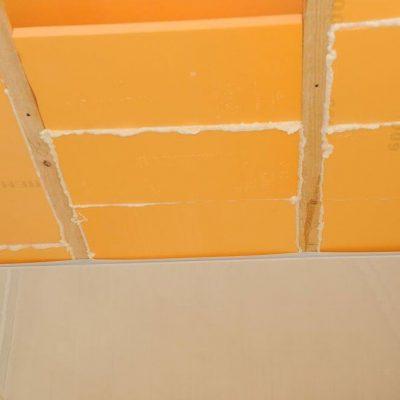 Шумоизоляция потолка натяжного