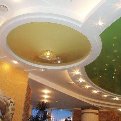 Потолок подвесной круглый