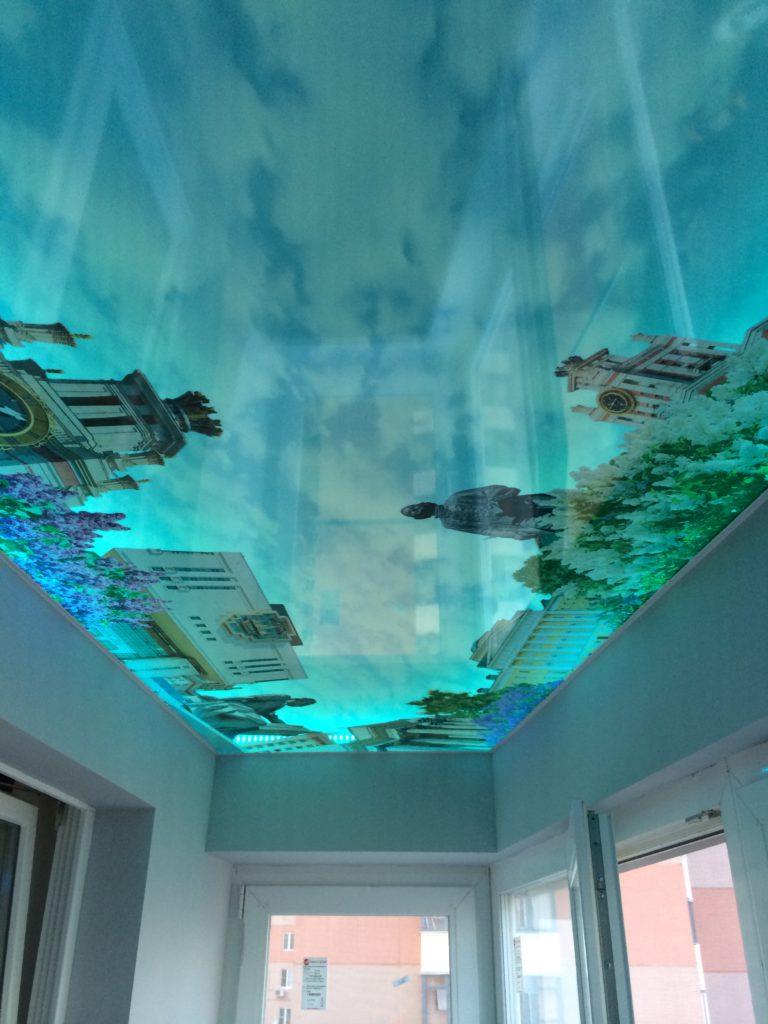 Натяжные 3D потолки - когда хочется чего-то большего