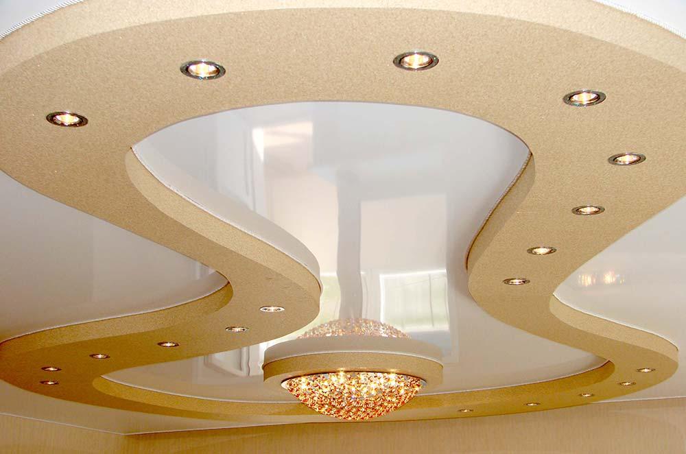 картинка фото на натяжной потолок дизайн самом деле