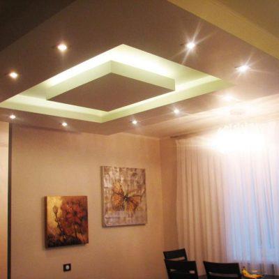 Потолок белый