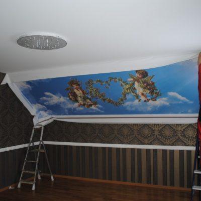 Картинка монтаж потолка