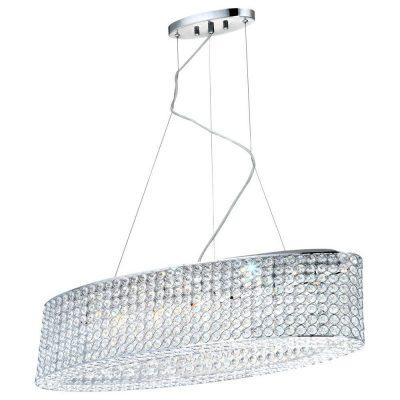 Подвесной светильник из хрусталя