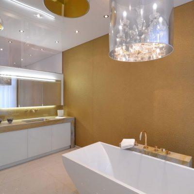Подвесные потолки для ванной