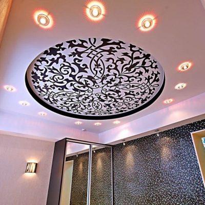 Потолок арт печать
