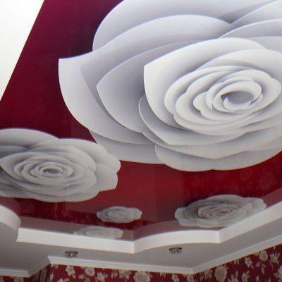 Фотопечать розы