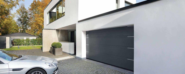 Рулонные и секционные ворота для гаража