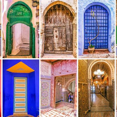 Мавританские арочные двери