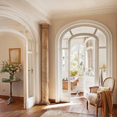 красивые арочные двери в интерьере